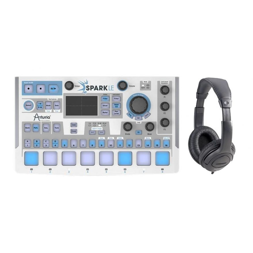 Producer Pack ARTURIA SparkLE Drum Machine / Cuffia Professionale