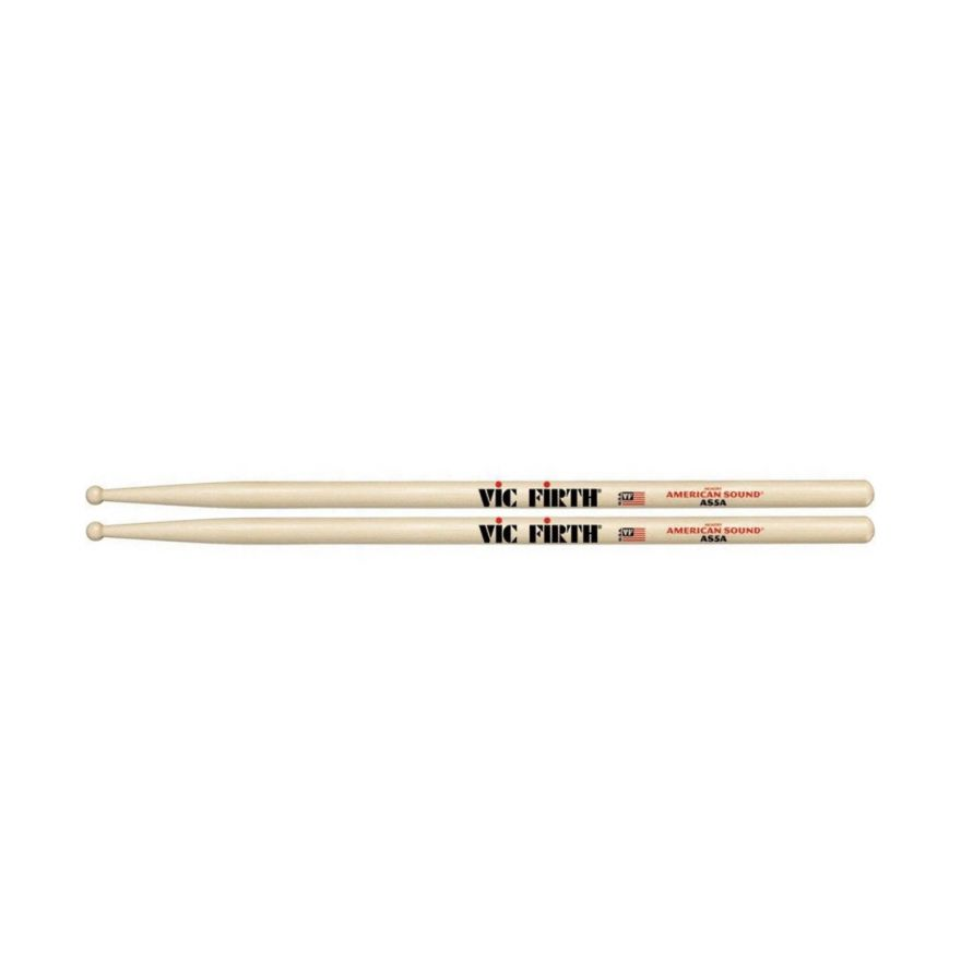 VIC FIRTH AS5A - Bacchette American Sound Hickory Punta in Legno