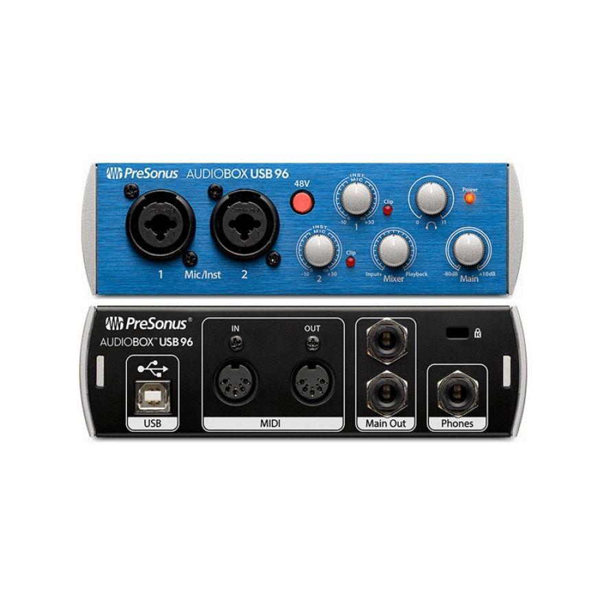 PRESONUS AUDIOBOX USB 96 - Scheda Audio USB 2 In/2 Out