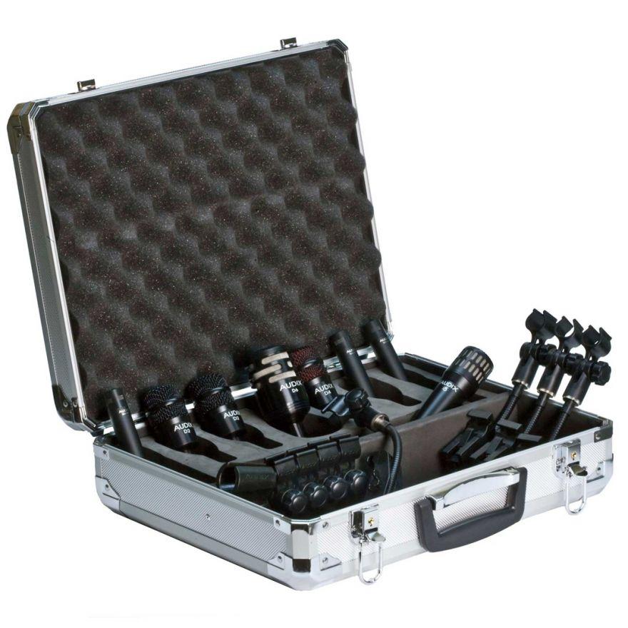 Audix Dp Elite 8 - Kit 8 Microfoni per Batteria / Supporti / Case