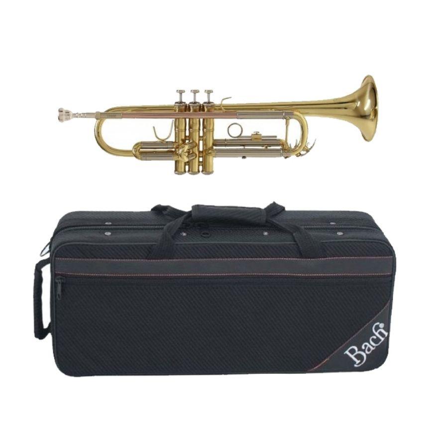 BACH TR 650 Tromba in Sib Laccata Oro con Custodia