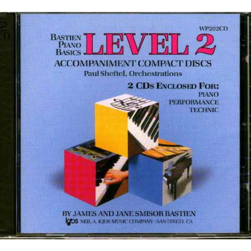 Bastien piano basics level2 cd