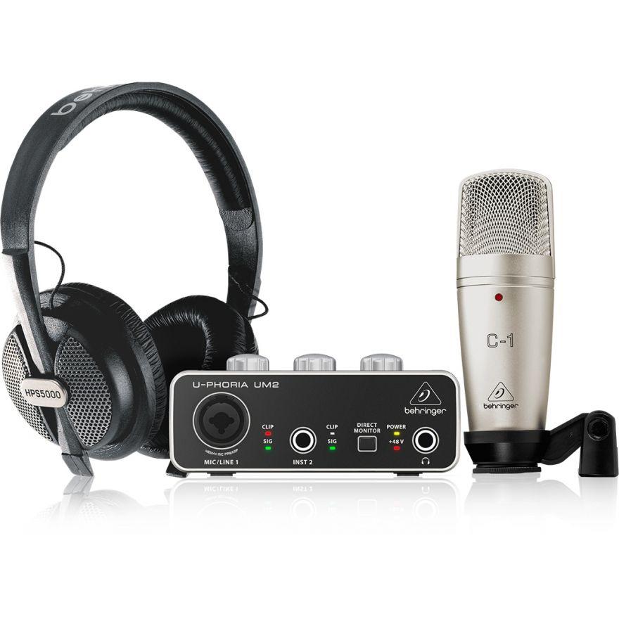 Behringer U-Phoria Studio - Kit per Podcasting/Recording