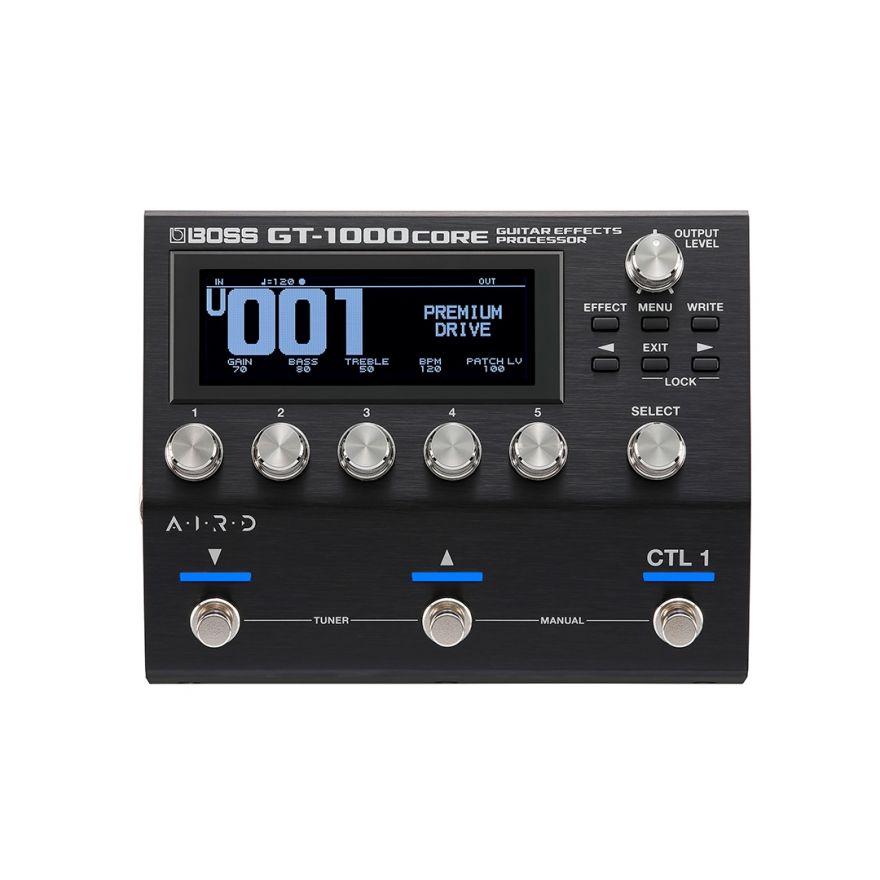 Boss GT-1000Core - Pedale Multieffetto per Chitarra Elettrica e Basso