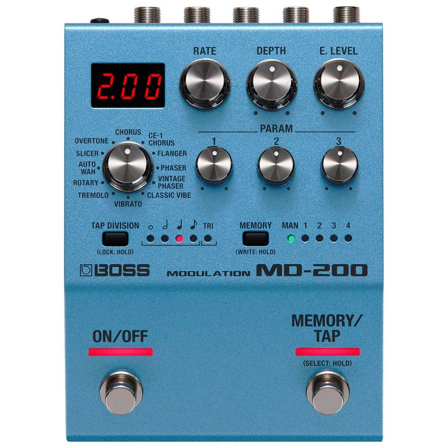 Boss MD 200 - Effetti di Modulazione