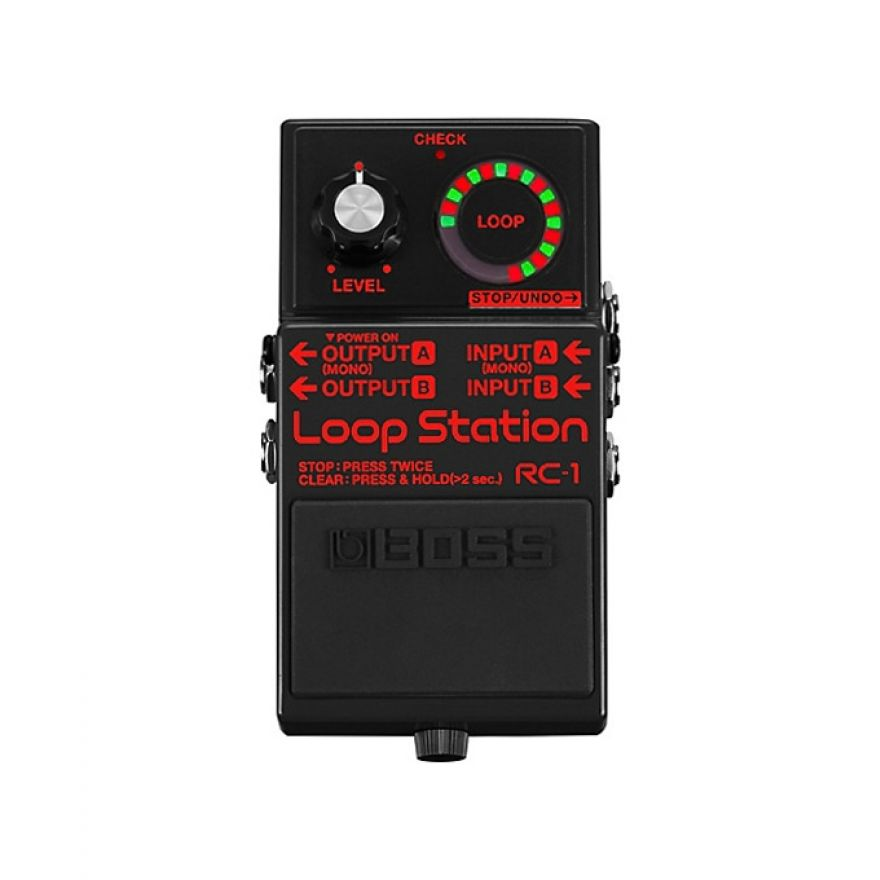 Boss RC1 Black Limited Edition - Pedale Loop Station