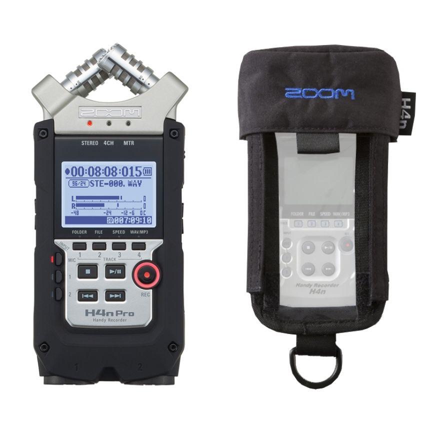 Zoom H4n Pro con Custodia