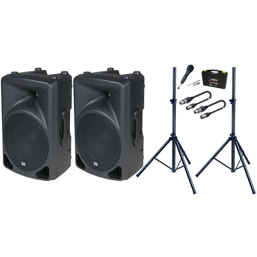 Bundle DAP AUDIO Set Diffusori Biamplificati