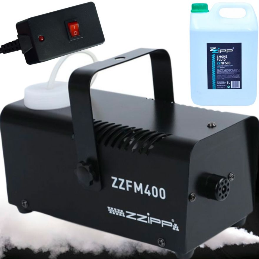 ZZIPP Macchina Fumo con Liquido 5lt