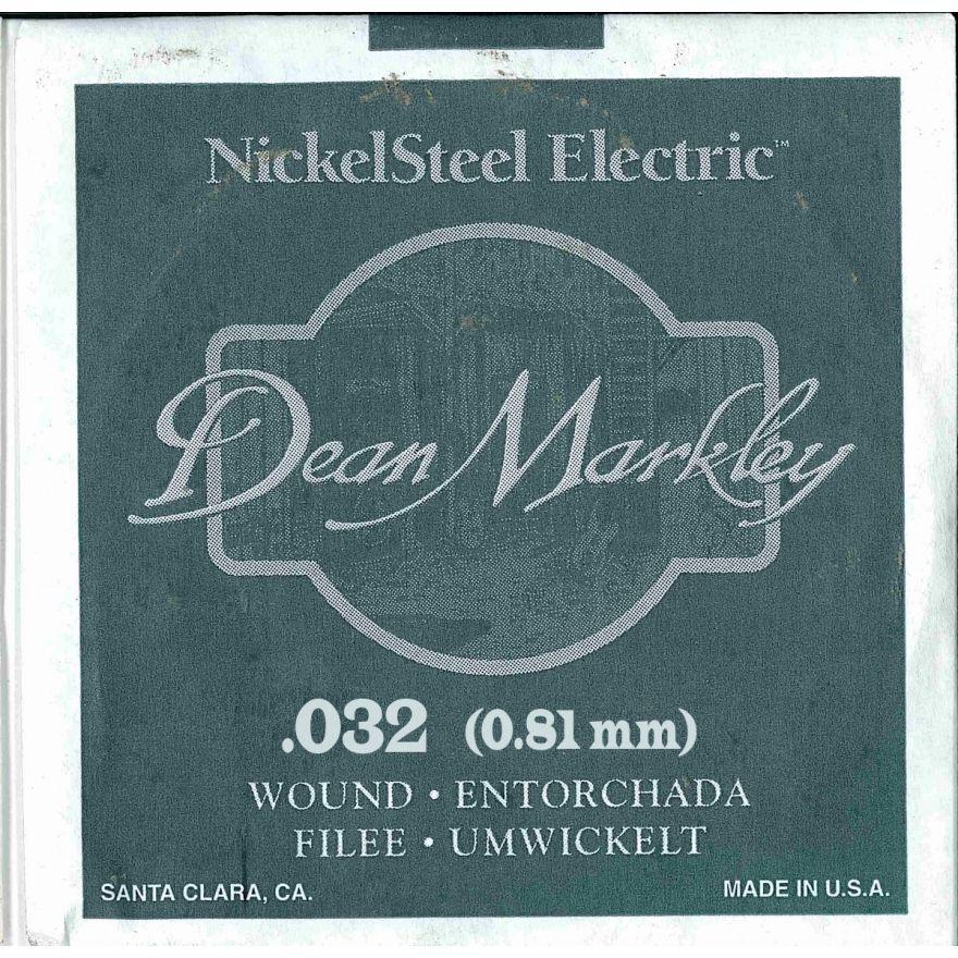 DEAN MARKLEY - Corda singola per Chitarra Elettrica Nickel Wound, .032