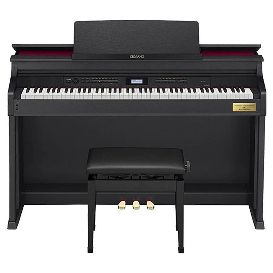 1 Casio Celaviano AP-710 Pianoforte Digitale Nero Satinato 88 Tasti