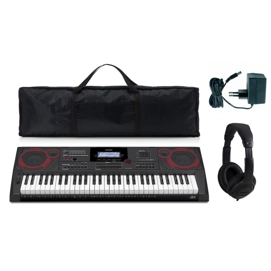 Casio CT X5000 Pack - Tastiera 61 Tasti / Borsa / Cuffie
