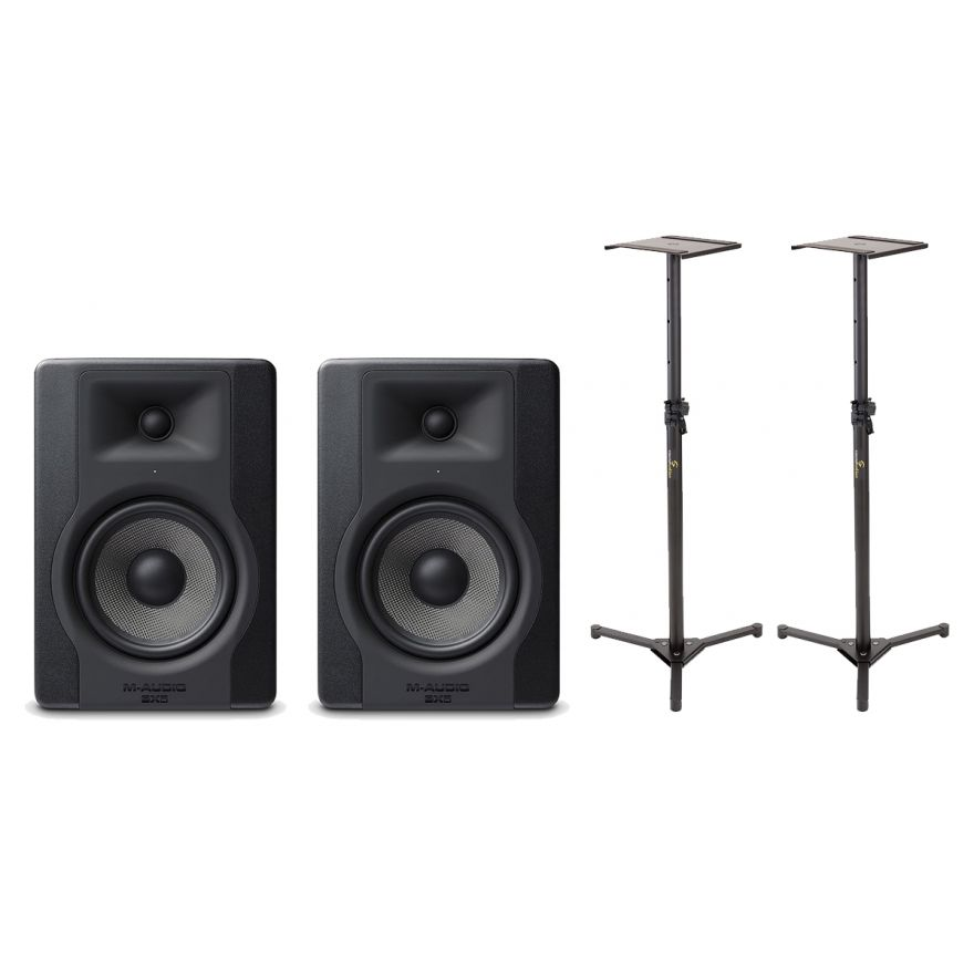 M-Audio Coppia BX5 D3 Studio Monitor / Stand