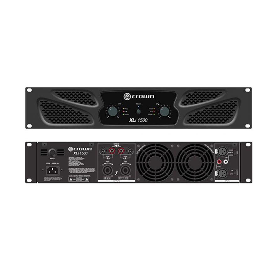 CROWN XLI1500 - Amplificatore PA/Touring 2x450 W/4 Ohm