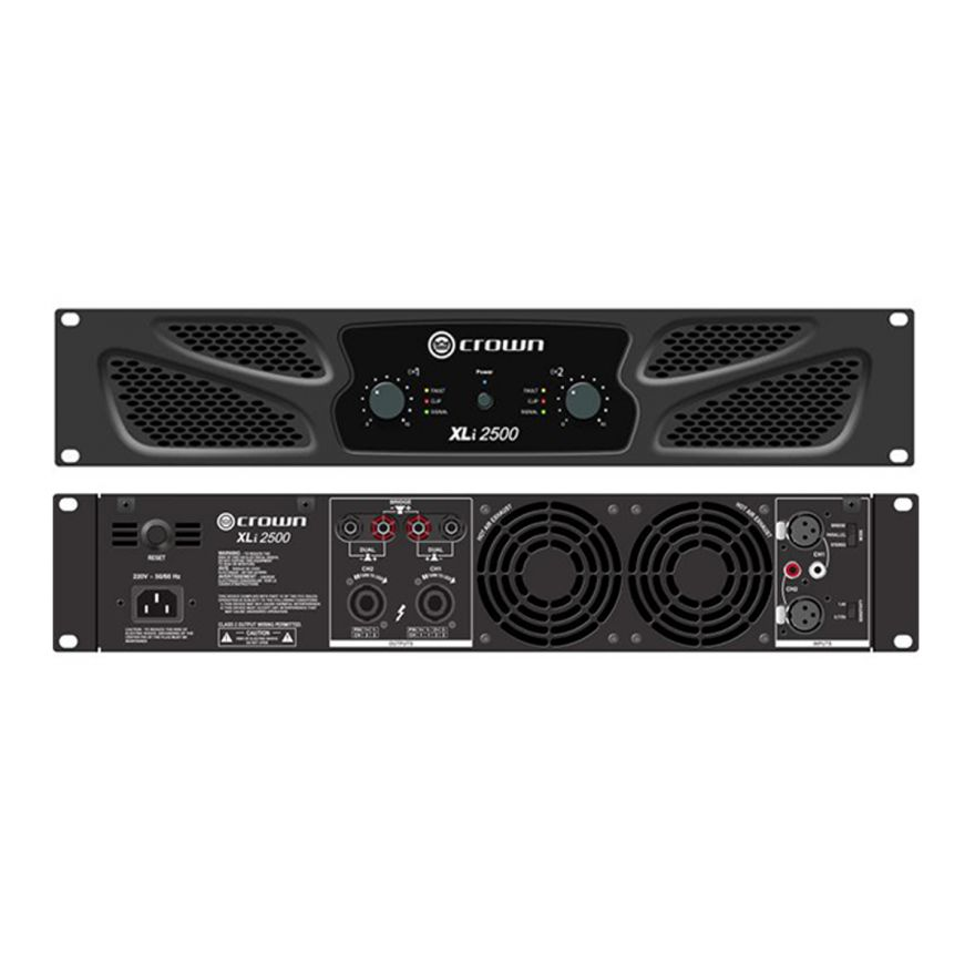 CROWN XLI2500 - Amplificatore PA/Touring 2x750 W/4 Ohm