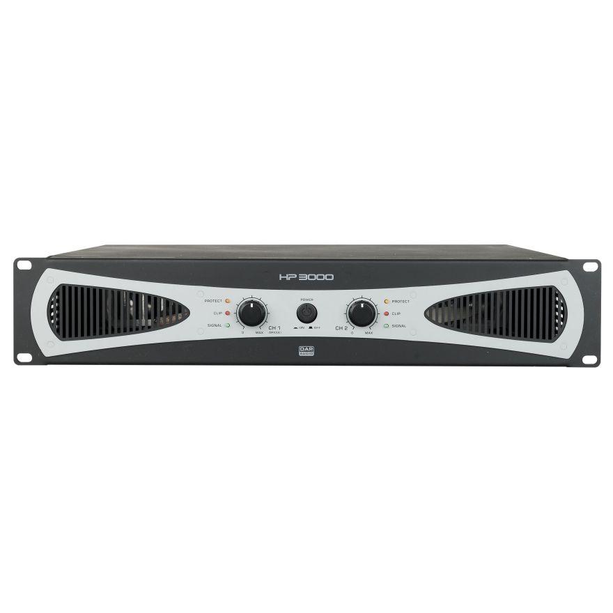 DAP-Audio - HP-3000 - 2U 2 amplificatori da 1400W