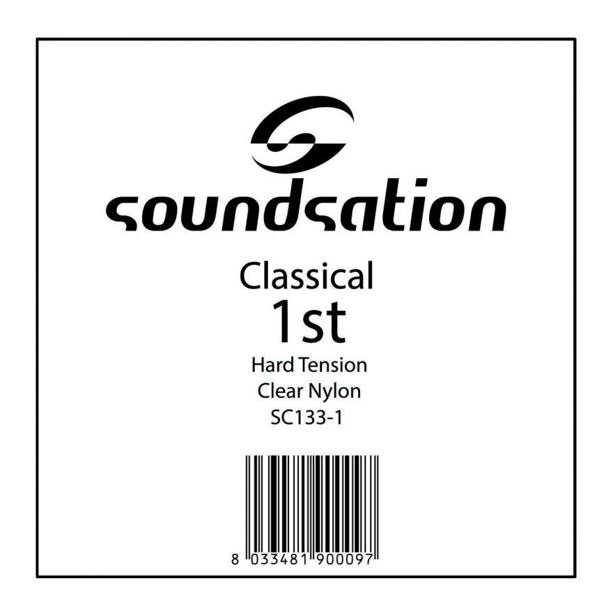0 SOUNDSATION - Corda per classica MI cantino 0.285 - Hard tension