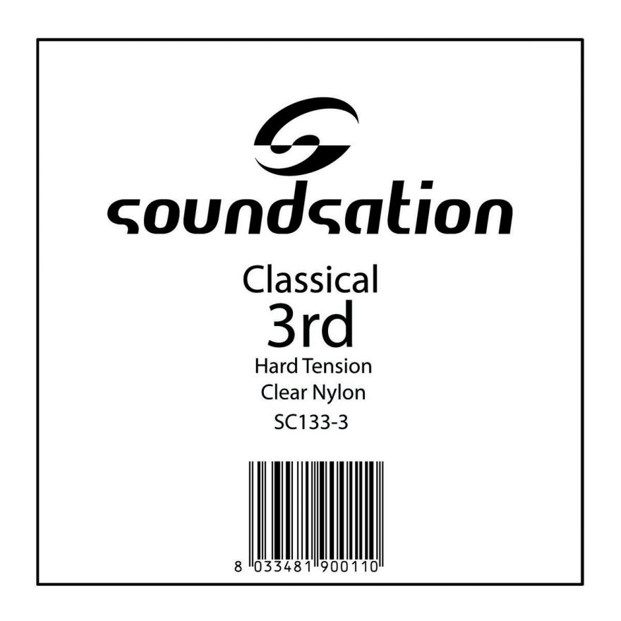 0 SOUNDSATION - Corda per classica SOL 0.41 - Hard tension