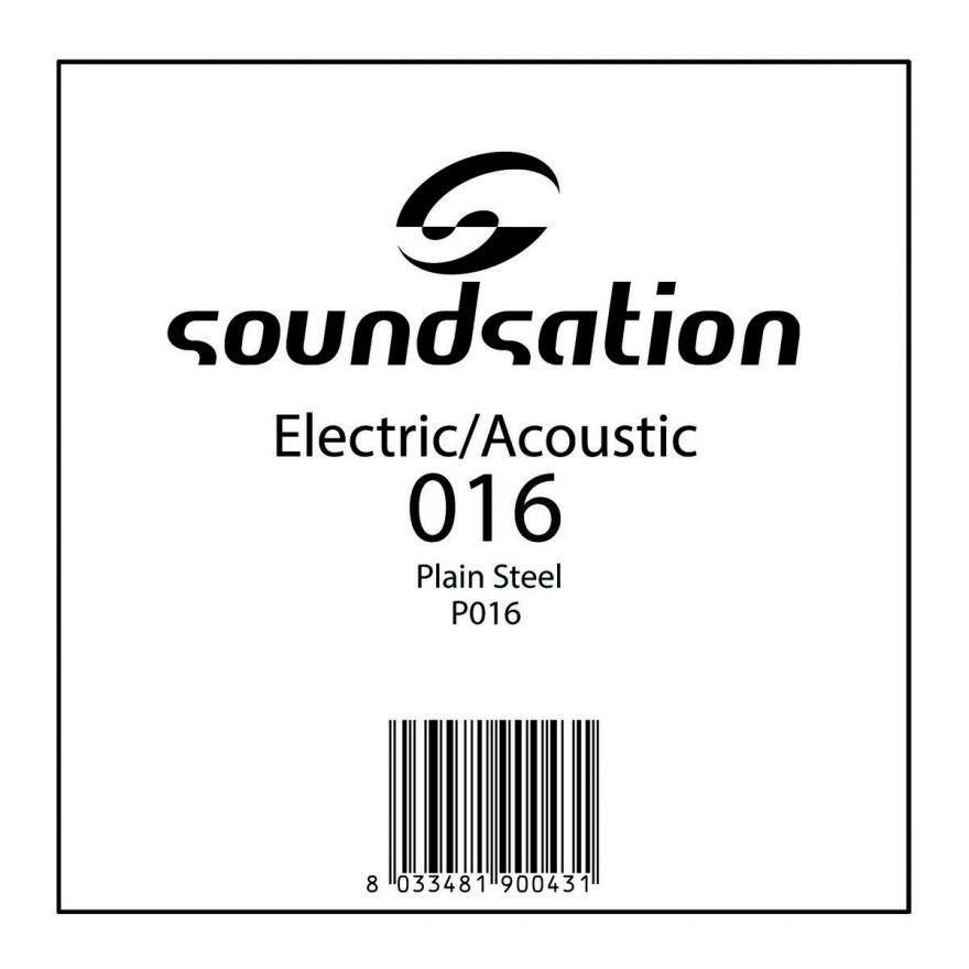 SOUNDSATION SE P016 - Singola per Acustica/Elettrica (016)