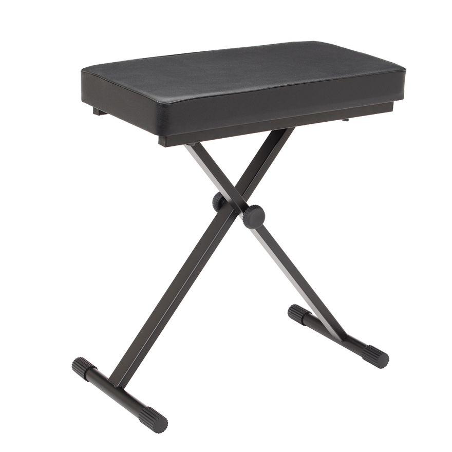 0 SOUNDSATION - Panchetta per tastiera extra large con sistema di regolazione rapido e seduta imbottita