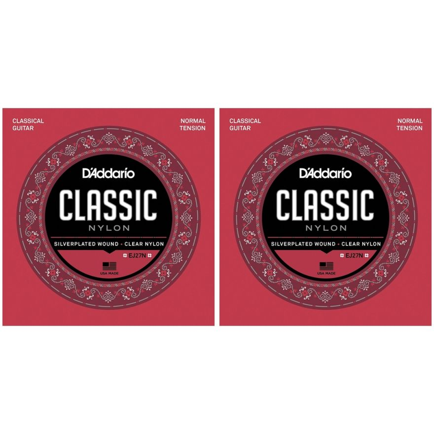 D'addario EJ27N 2 Mute per Chitarra Classica (028-043) Nylon 4/4