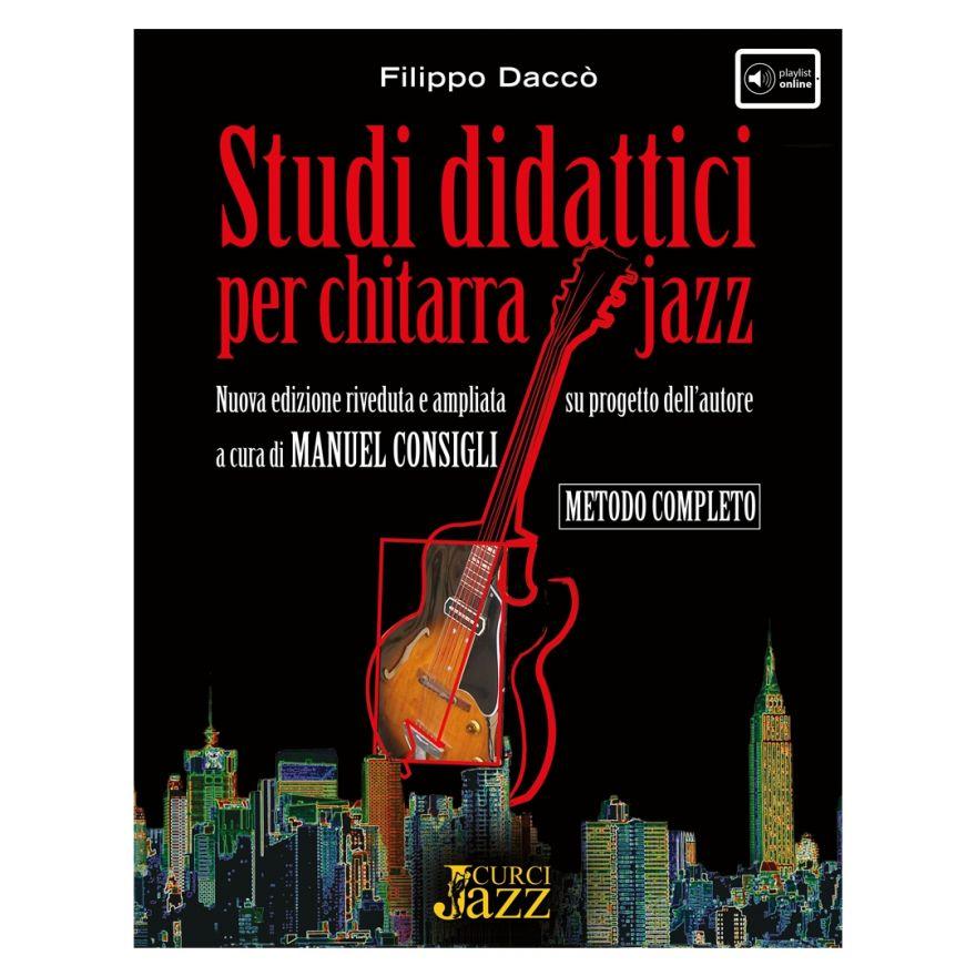 Curci Daccò Filippo Studi Didattici Per Chitarra Jazz