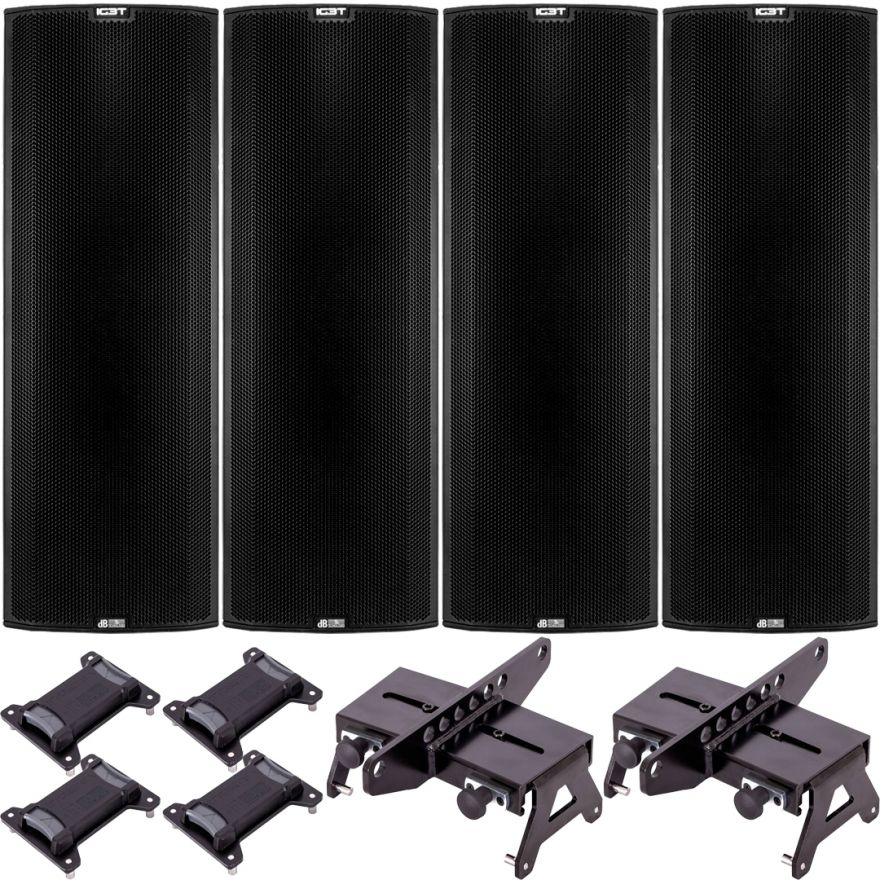 dB Technologies Impianto Line Array Ingenia 7200W