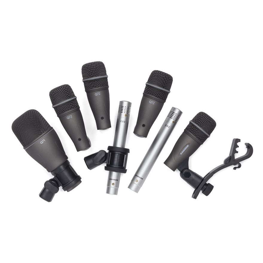 SAMSON DK707 - Kit 7 Microfoni per Batteria