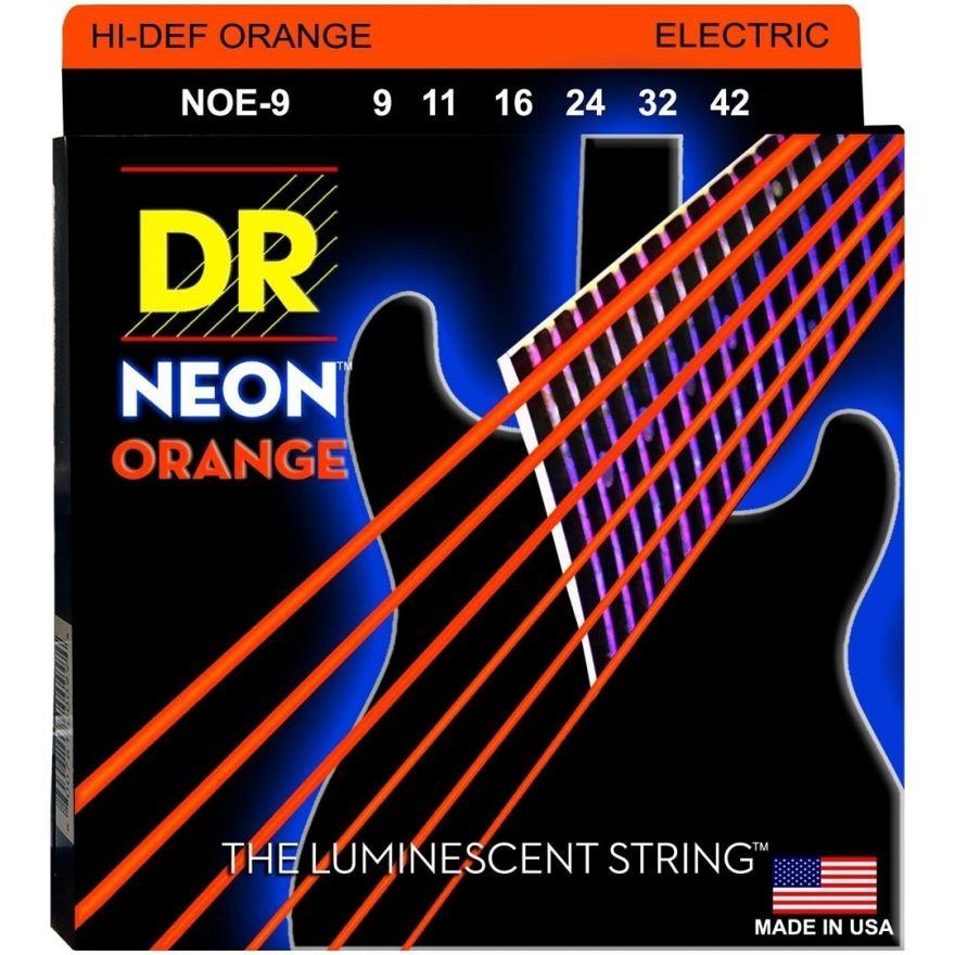 Dr NOE-9 NEON ORANGE Corde