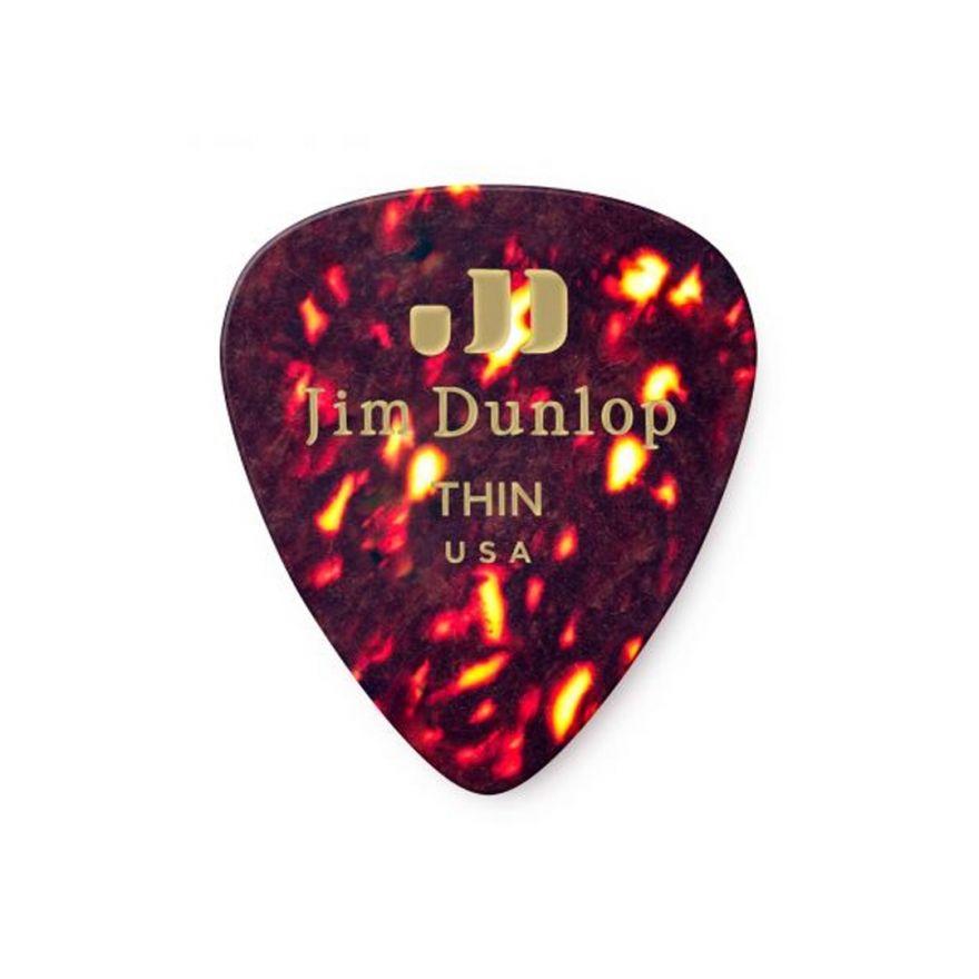 Dunlop 483R05TH Shell Classic Confezione 72 Plettri Thin