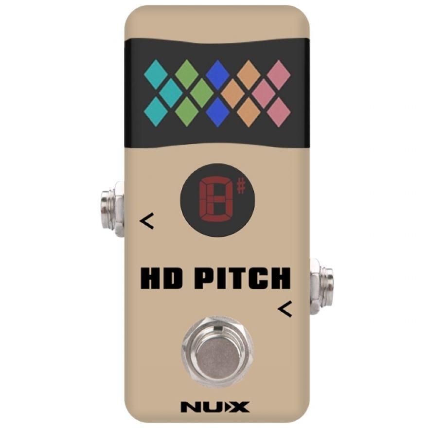 0 NUX NTU-2 HD PITCH - Mini Accordatore A Pedale
