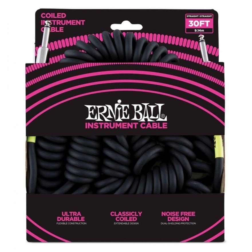 Ernie Ball Cavo Spiralato per Strumenti 9mt