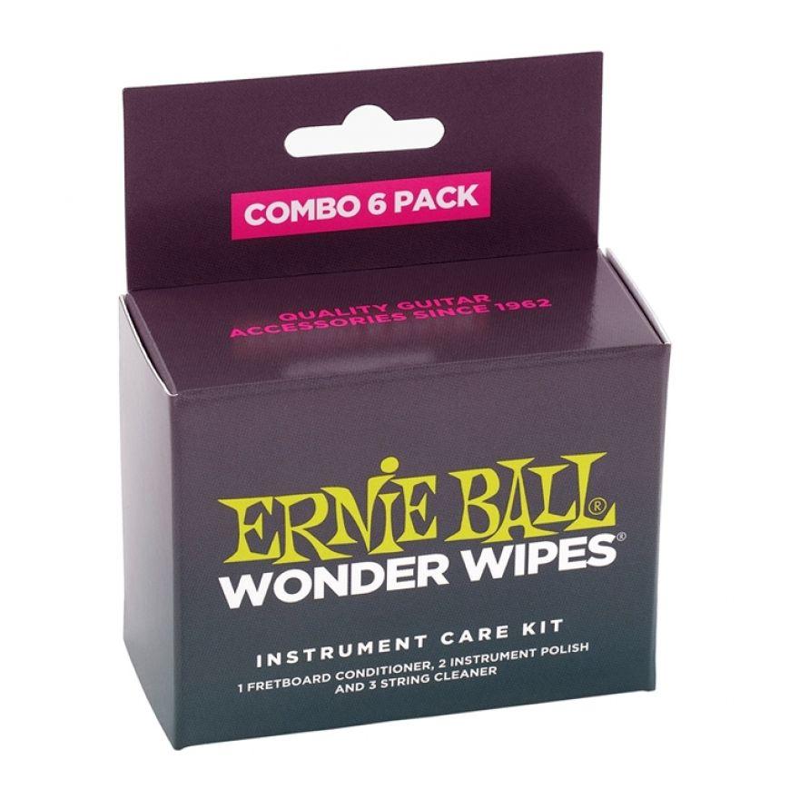 Ernie Ball Wonder Wipes Combo (6 pezzi)