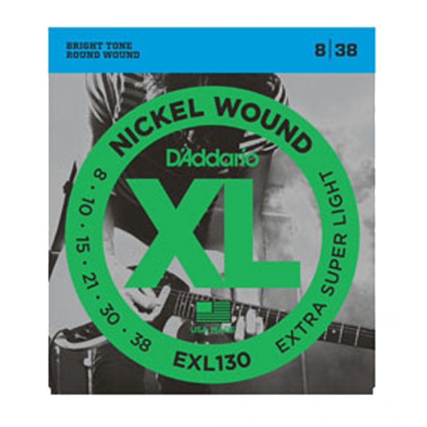 D'ADDARIO EXL130 X-SUPER LIGHT 008/038