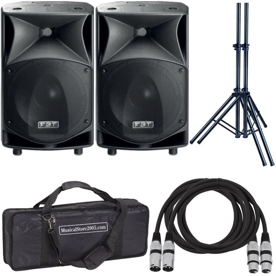 FBT JMaxX 112A (Coppia) - Casse Attive 900W Impianto DJ Karaoke Amplificato