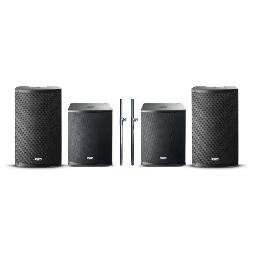 FBT Sistema Audio Completo 4400W