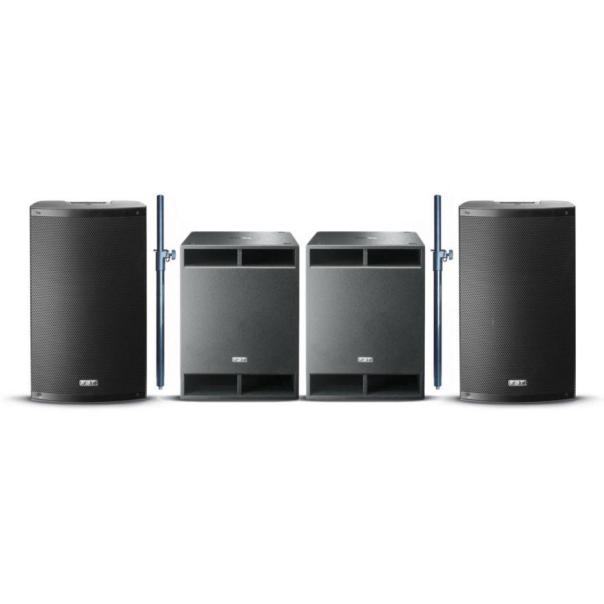 FBT Impianto Audio Completo 4400W