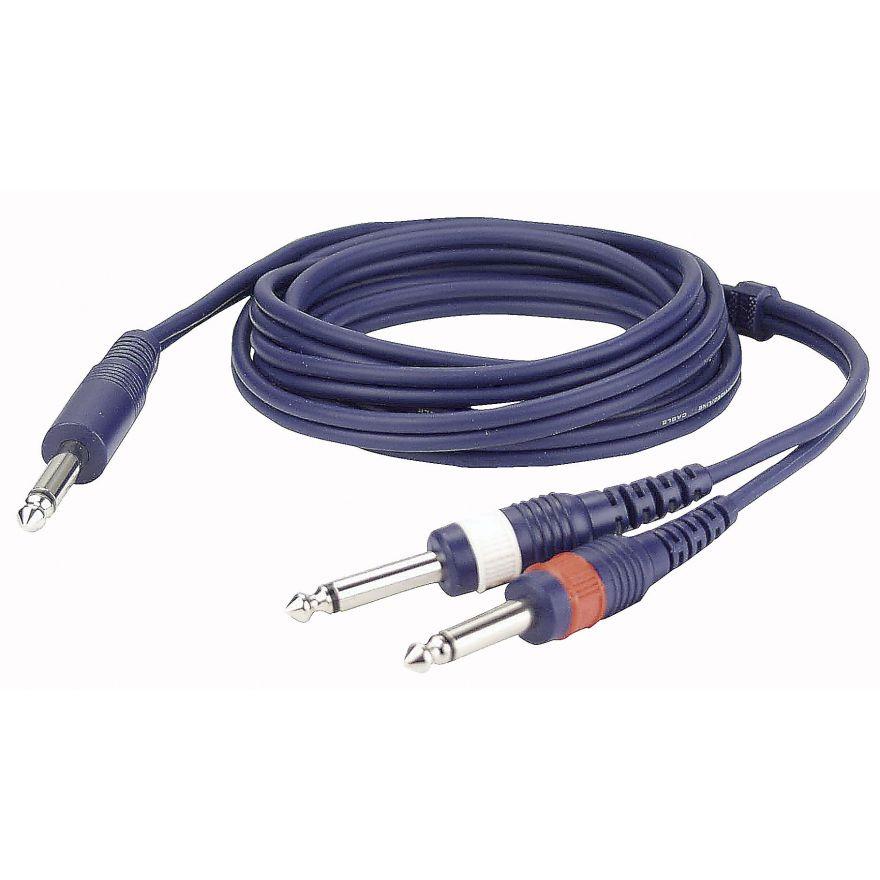 DAP-Audio - FL32 - mono Jack > 2 mono Jack L/R - 1,5 m