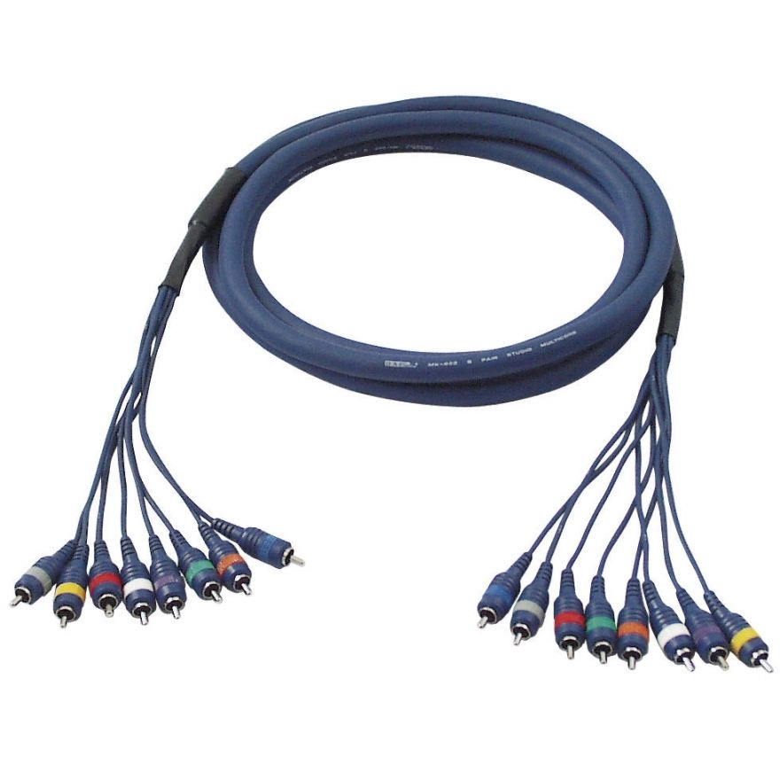 DAP-Audio - FL65 - 8 RCA/M > 8 RCA/M - 3 m