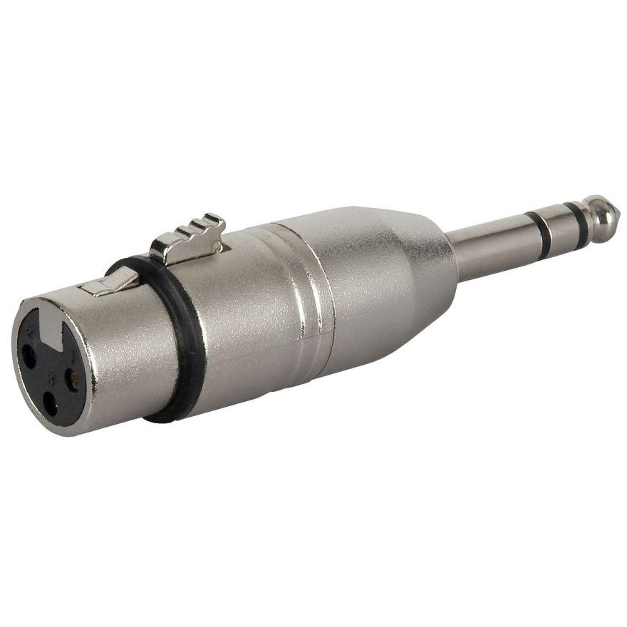 DAP-Audio - FLA24 - XLR F. 3p. > Jack stereo M. - Adapters