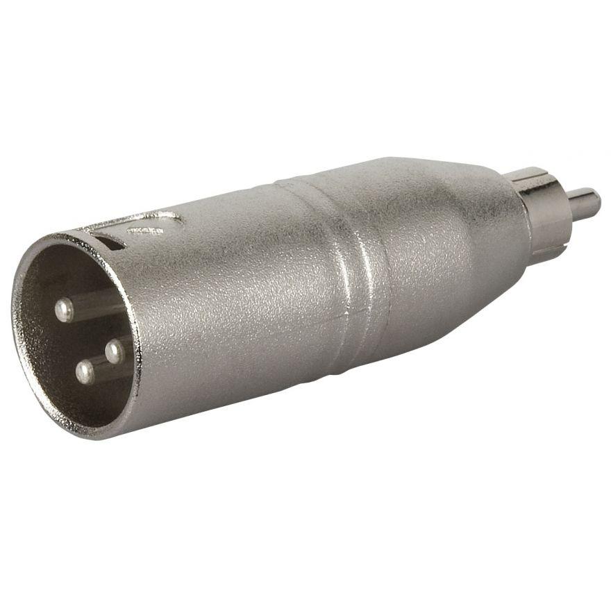 DAP-Audio - FLA32 - XLR M. 3p. > RCA M. - Adapters