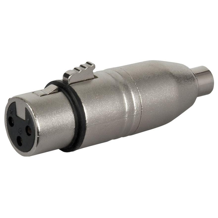 DAP-Audio - FLA33 - XLR F. 3p. > RCA F. - Adapters