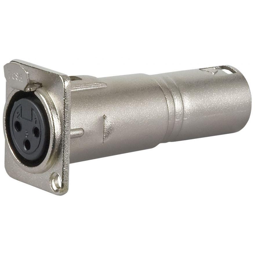 DAP-Audio - FLA50 - XLR F. 3p. chassis > XLR M. 3p. - Adapters