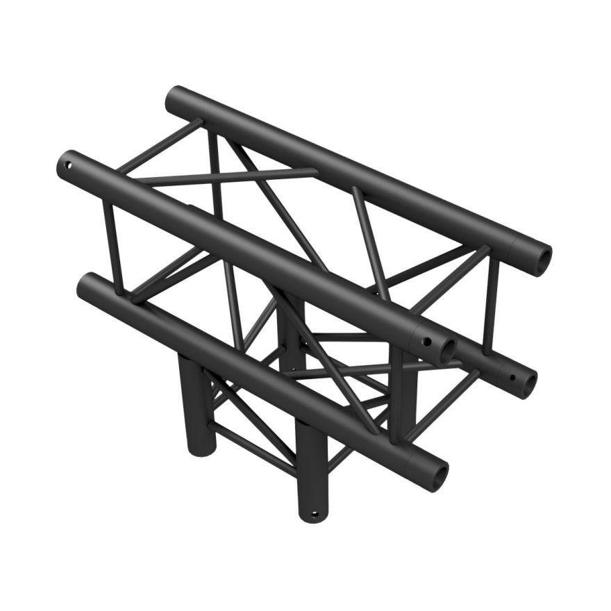 Showtec - T-Cross 3-way - NERO, traliccio Pro-30 quadrato F