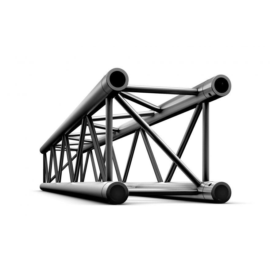 Showtec - Straight 3000mm - NERO, traliccio Pro-30 quadrato F