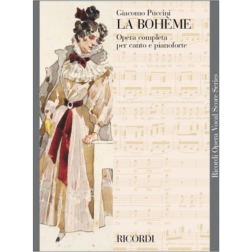 1 G. Puccini Ricordi La Boheme Opera Completa Canto e Pianoforte