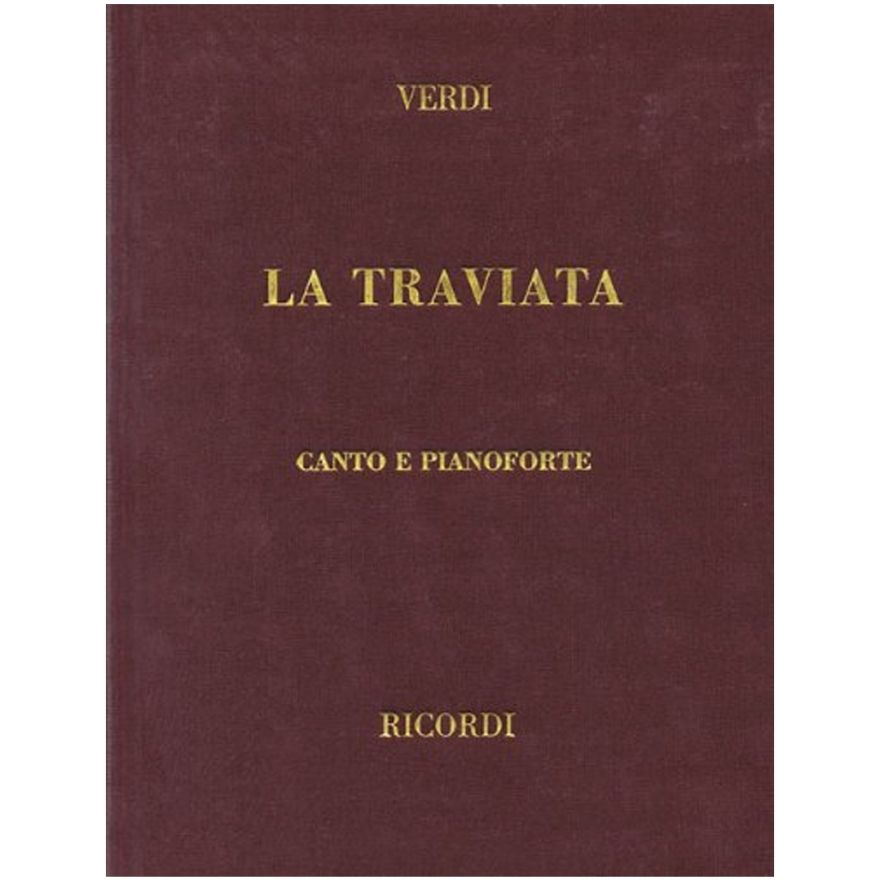 1 G. Verdi Ricordi La Traviata Edizione Tradizionale Canto e Pianoforte