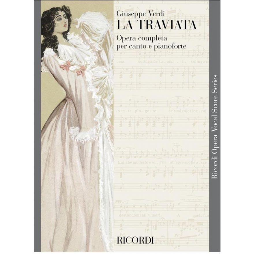 1 G. Verdi Ricordi La traviata Opera Completa Spartito per Canto e Pianoforte