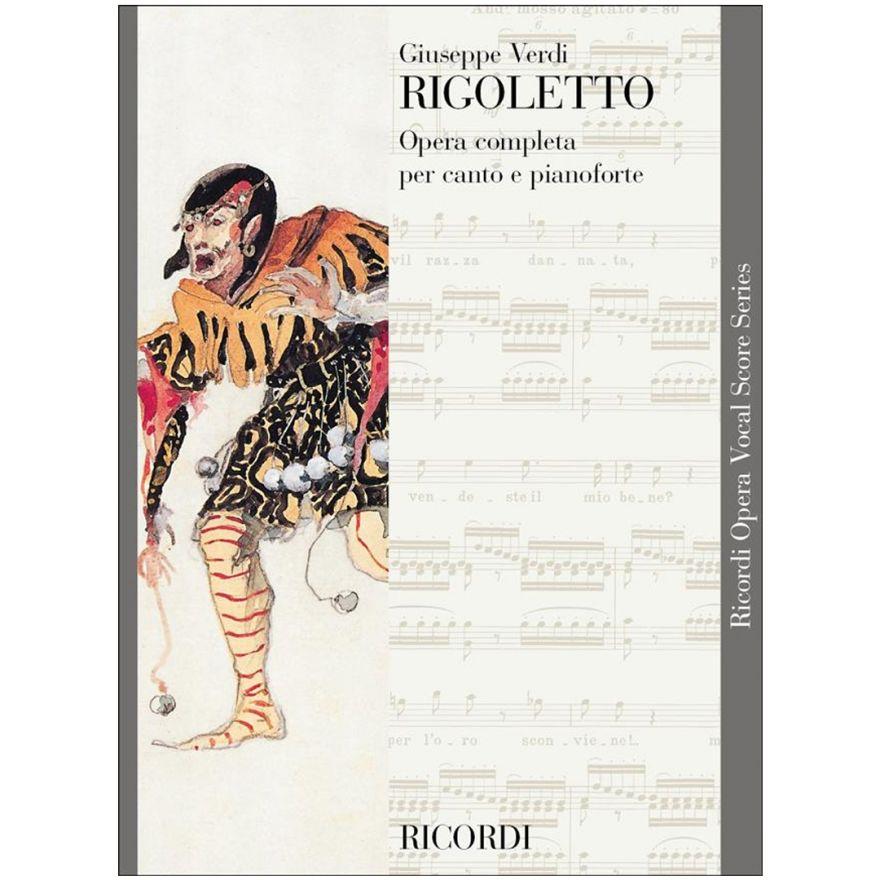 1 G. Verdi Ricordi Rigoletto Opera Completa Canto e Pianoforte