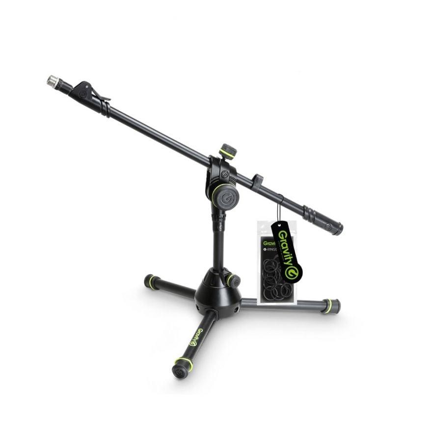 Gravity MS 3122 HDB - Stativo per microfono piccolo e pesante